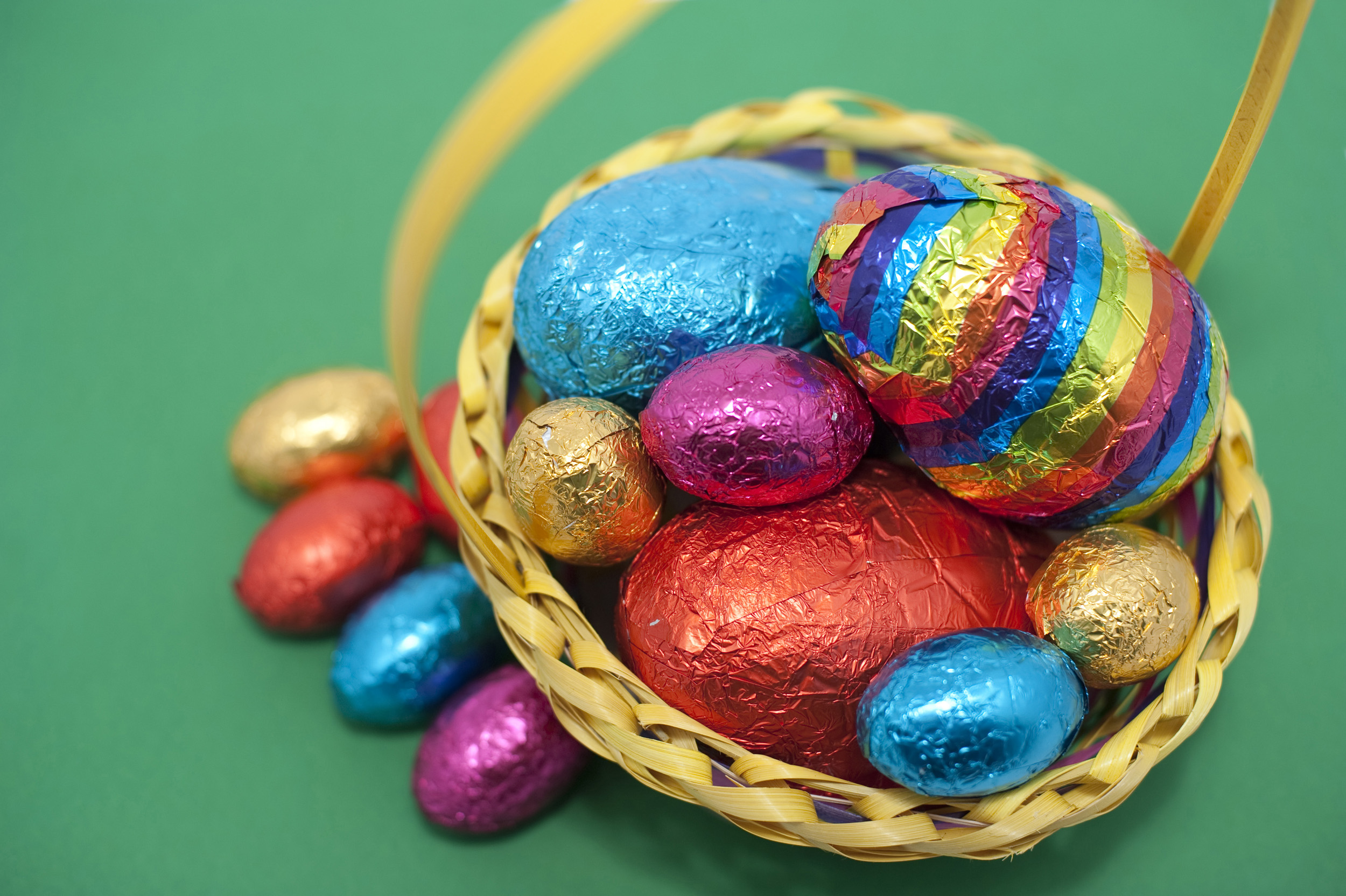 Foil Wrapped Chocolate Easter Eggs Nutrition